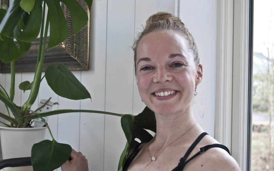 Kortreist Yoga – intervju med Kine Orheim