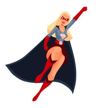 Kvinners kraft  – kvinner med makt i myter og historie