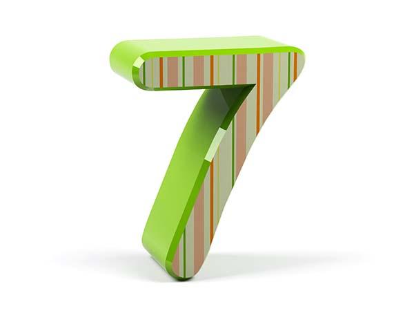 Numerologisk analyse – tallet 7